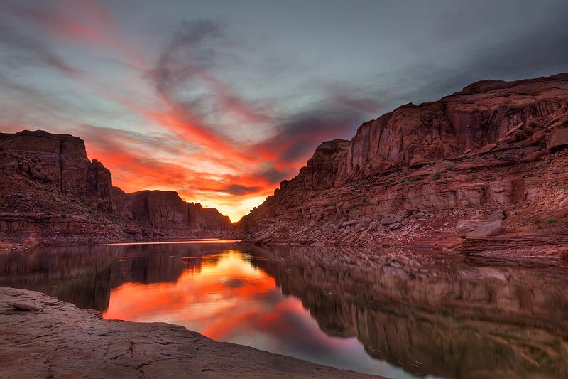 Lake-Powell-Sunset-David-Wagner