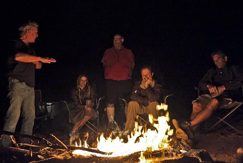 Lake Powell Campfire