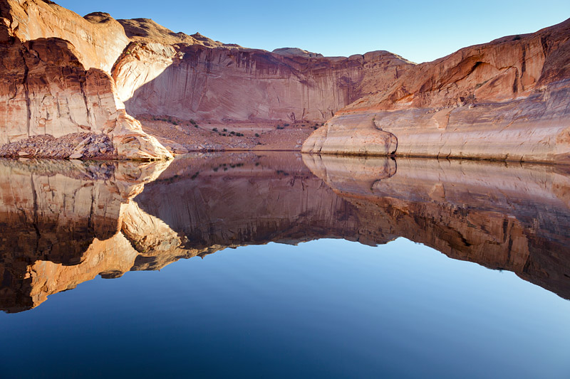 Lake Powell Canyon Reflection