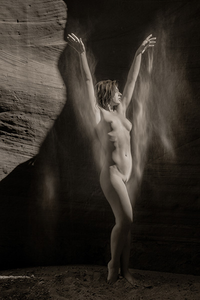 Photography Tour Southwest Slot Canyon Nude Craig Blacklock